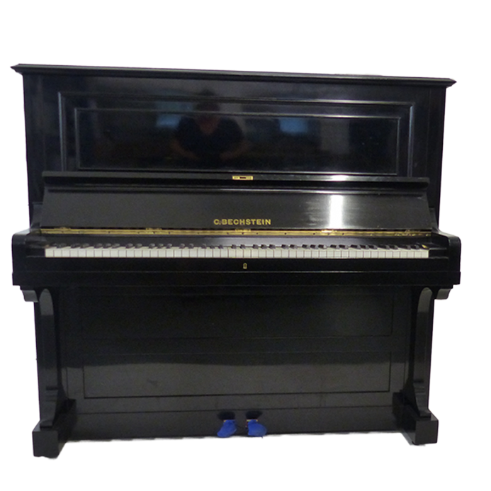 C. Bechstein model 10 Traditional 130cm Upright Piano Black c1906